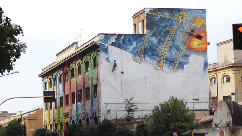Arte urbana in Italia - La scena romana