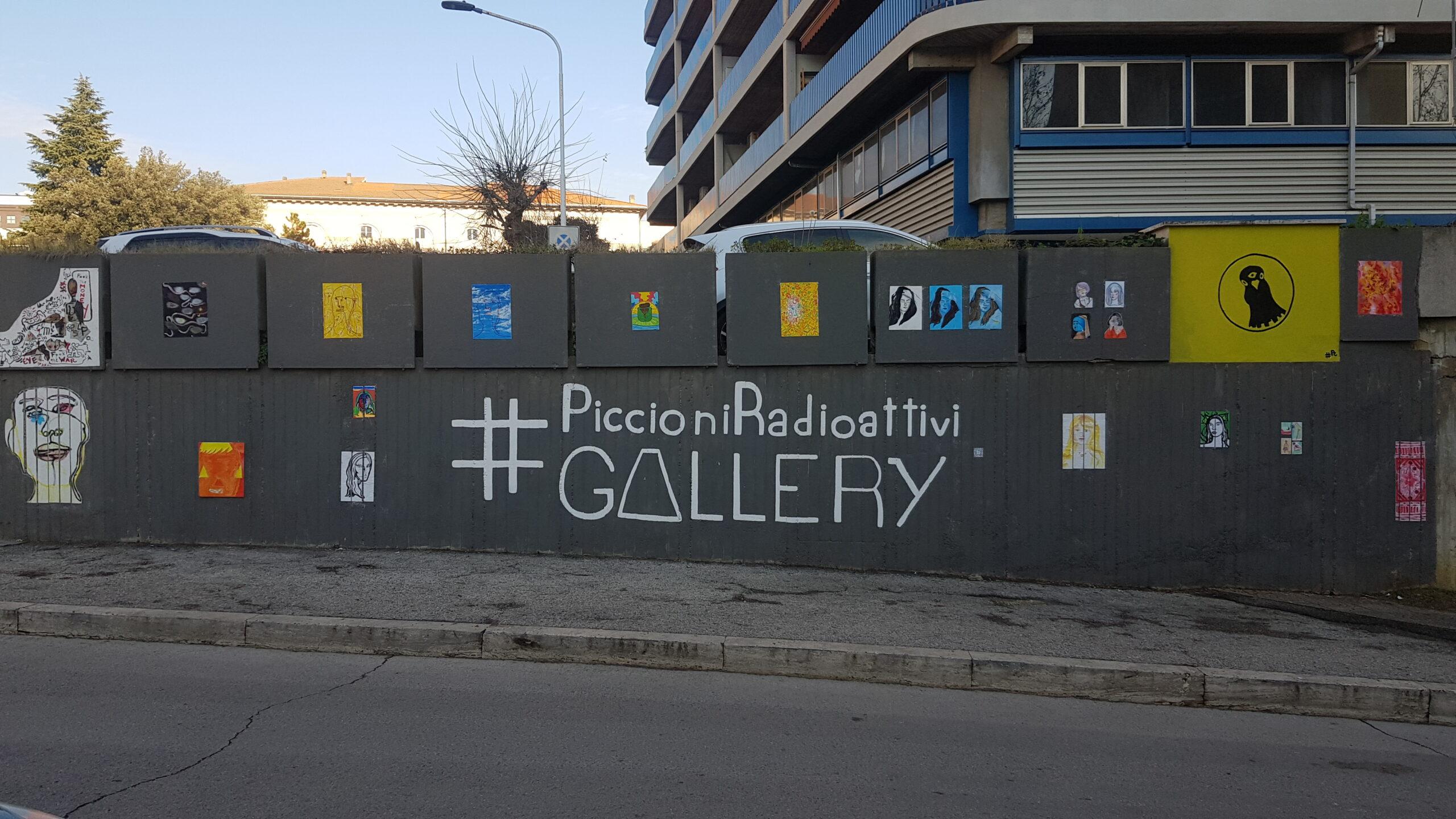 Muro riqualificato in via del Macello a Perugia